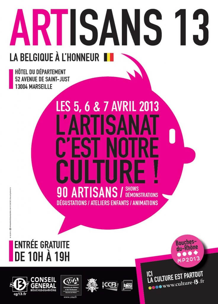 Artisan 13 la belgique l honneur du 5 au 7 avril 2013 for Chambre de commerce belge